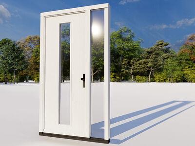 Voordeur zijlicht model 02