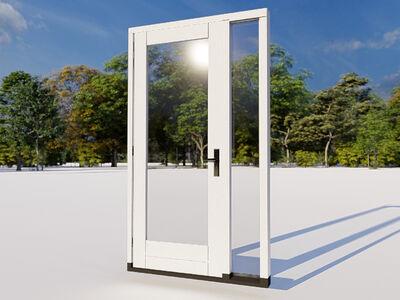Achterdeur zijlicht model 01